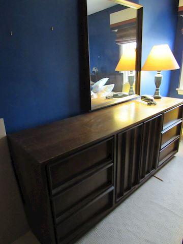 Bassett Furniture Mid-Century Lowboy Dresser