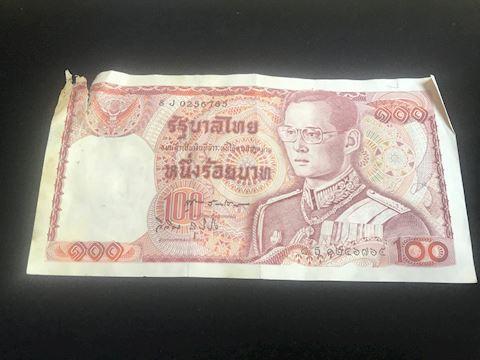 100 foreign bill