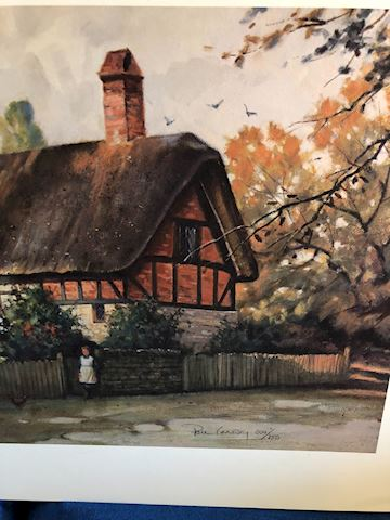 An English Cottage by Paul Landry