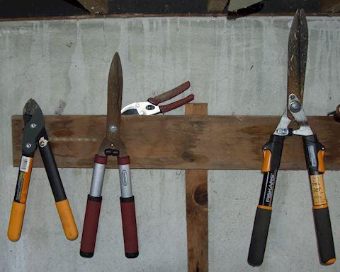 Assorted Garden Tools.