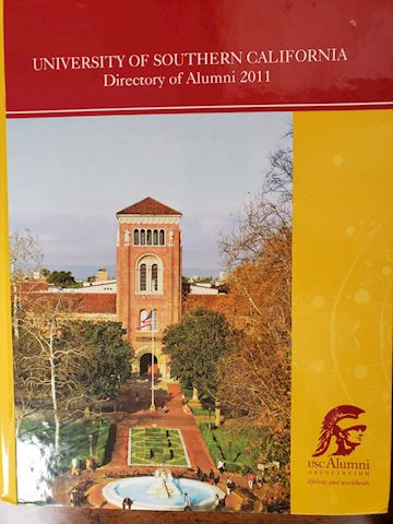 2011 UNIVERSITYOF SO.  CALIFORNIA ALUMNI DIRECTORY