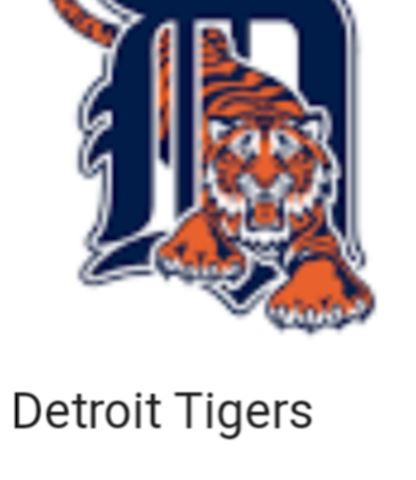 Collection of 1000 Detroit Tigers Baseball Cards