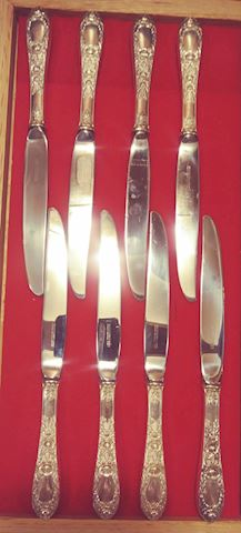 Sterling Silver Dinner Knives