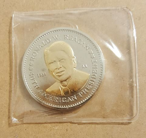 BU Ronald Reagan Commemorative Coin