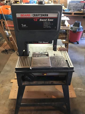 Sears craftsman and saw