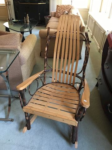 Amish Bentwood Rocker Chair