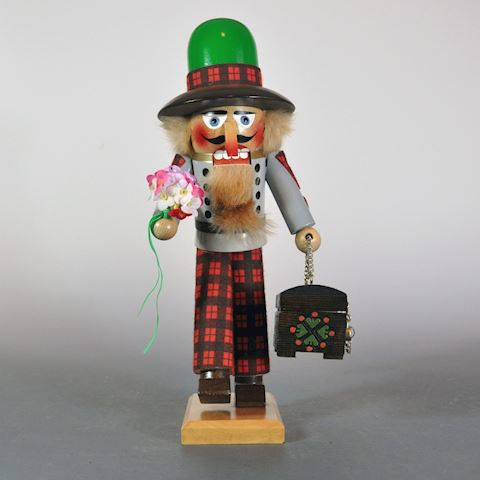 "1980s Steinbach 16"" The Dowry or Suitor Nutcracker"