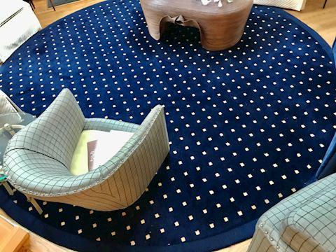 Moquette pattern living rug