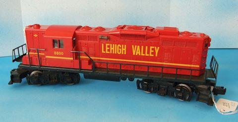 8800 ** LEHIGH VALLEY GP9 DIESEL 1987