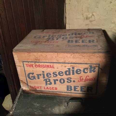 Griesedieck Bros Beer Crate