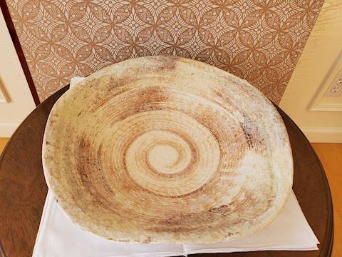 Handmade pottery bowl/vessel.