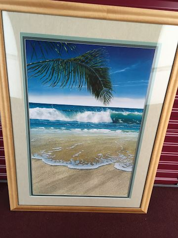 2 Large Photographs Prints 'Waves'  by KRESMAN