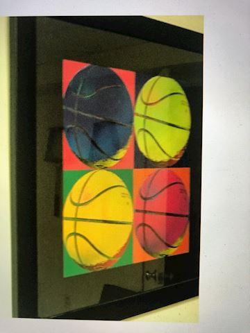 Basketball  Framed Art