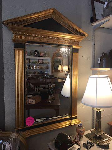 Pediment Mirror