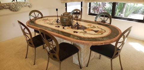 Stunning Statement Piece Dining Room Table