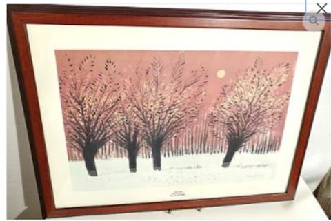 Winter Moon Hungarian Artist - RARE