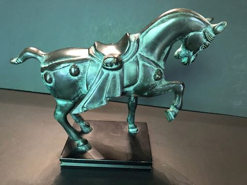 Tang Dynasty Style Asian Horse Statue