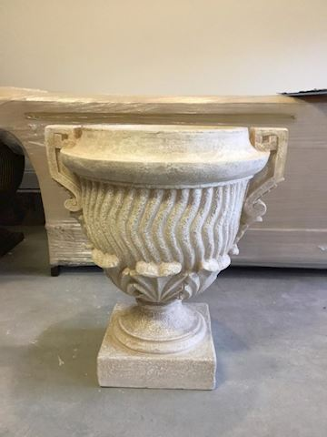 one  Concrete vase