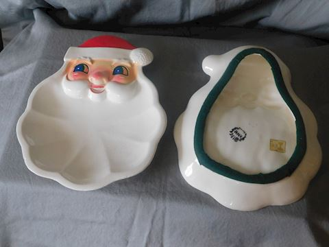 Two Santa Trays