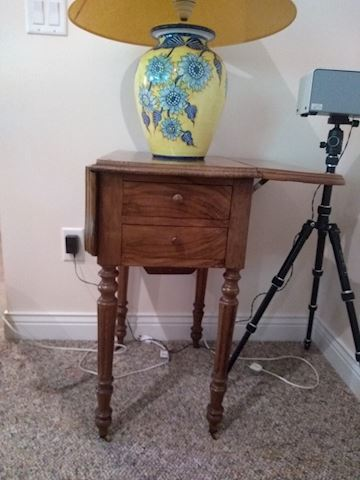 Small Folding Table.