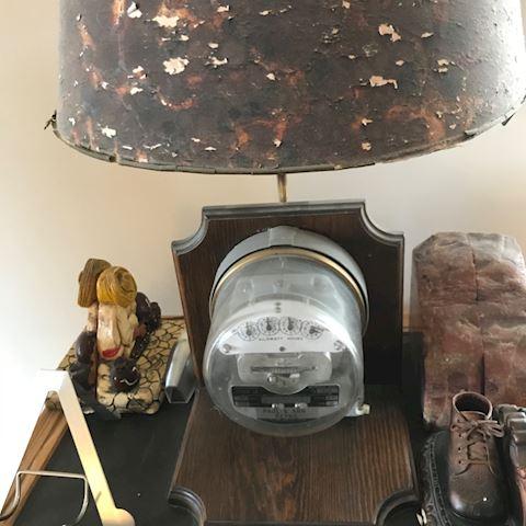 Meter lamp