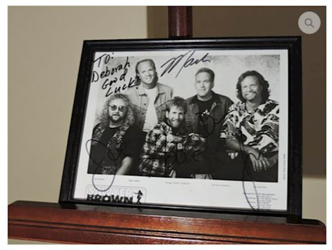 Autographed Photo Sawyer Brown Country Music Band