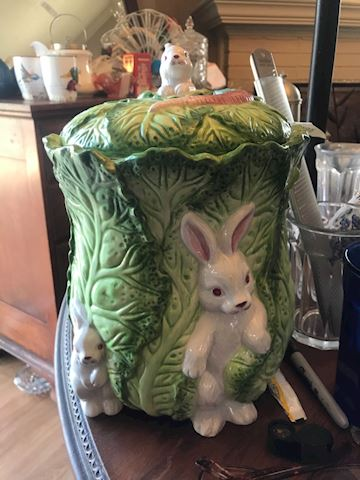 Strata Group Bunny Lane Cookie Jar or canister