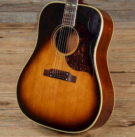 Guitar 1967 Gibson Southern Jumbo Burst 6 String