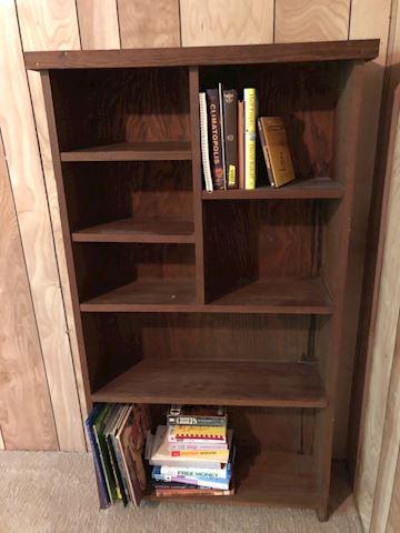Primitive Book shelf