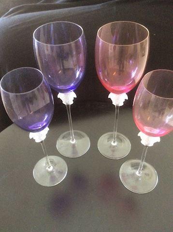 Versace Wine Glasses