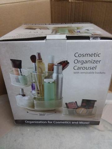 Cosmetic Organizer Carousel