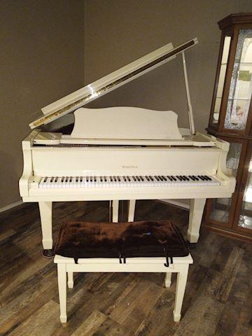 "RARE 6' 1""  WURLITZER GRAND PIANO by YOUNG CHANG!"
