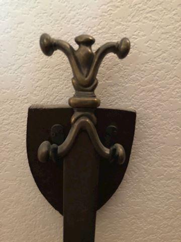 Anthropomorphic Celtic Replica Sword