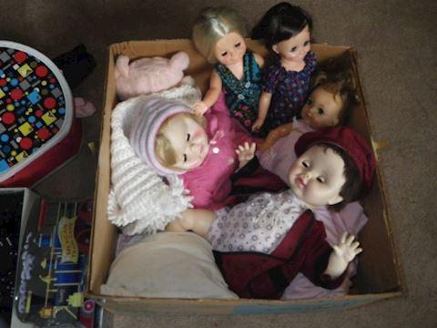 Lot #23 - 1970s Dolls & Clothes