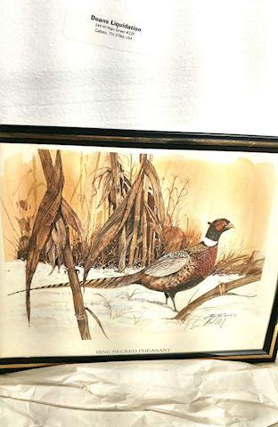 Watercolor Original Art Signed by R.J. McDonald, F
