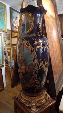 Pair of Floor Vases