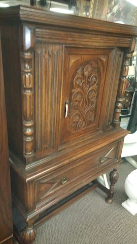 Antique China Hutch - #2998