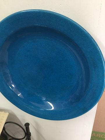 Blue Finished Plate