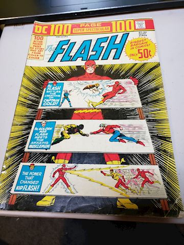 The Flash 100 page issue 22