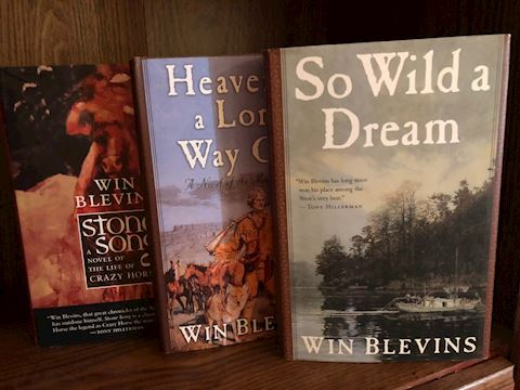 Win Blevins Books - 3 Total