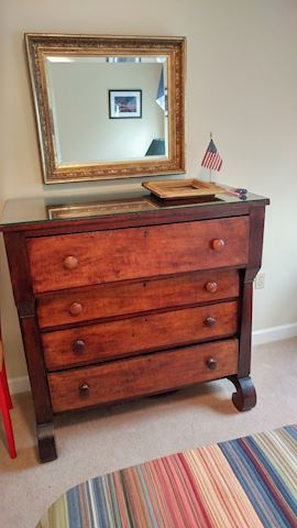 Mahogany Chest of Drawers 19th Century