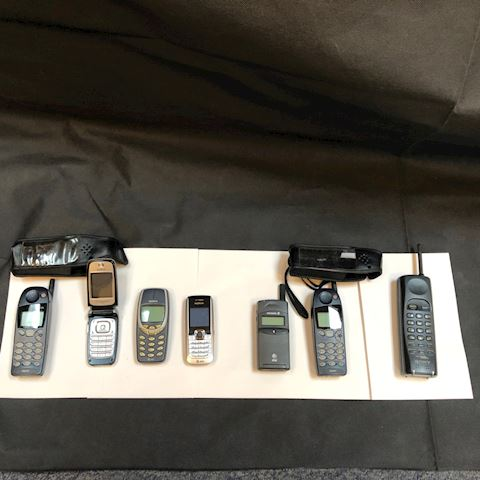 Mobile, Flip and Cell Phones, Calculators