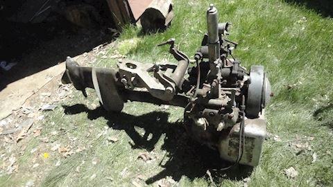 Rare 1929/30 ? V-45 Johnson Outboard Motor Lot # 9