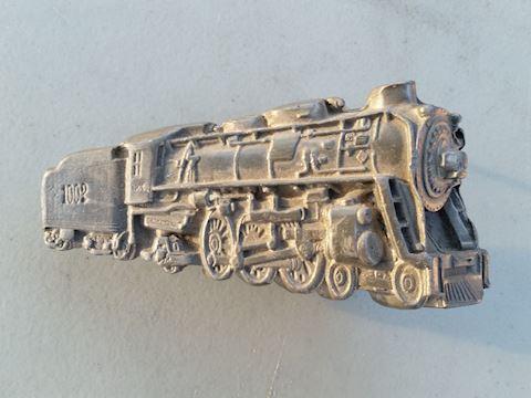 train locomotive belt buckle