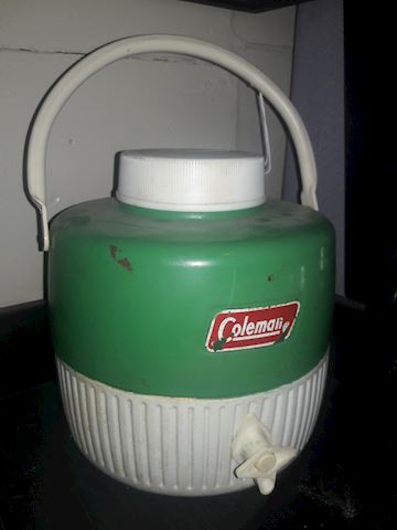 Mid Century Coleman Cooler with spout