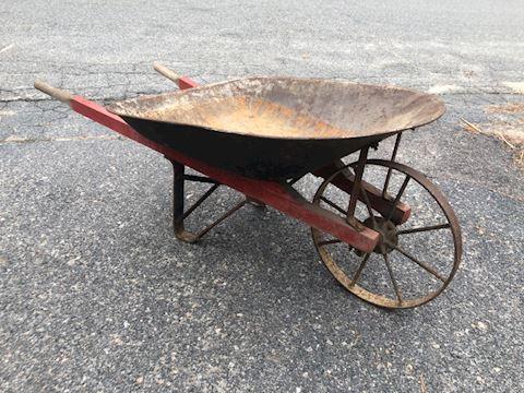 Antique Wheelbarrow