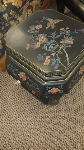 Oriental End Tables - #3489 & #3490
