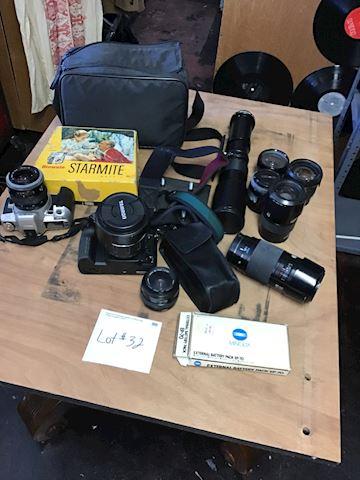 Vintage camera lot# 32