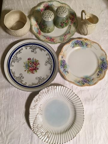 Lot of Belleek and Vintage China