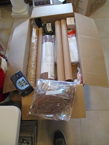 Christmas Village finishing kit